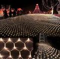 LED Чистый Свет 6 М * 4 М 750 Светодиодов Сетчатая Структура Лампы Занавес Строку Света Рождество Свадьба Праздник Рождество фея Освещения