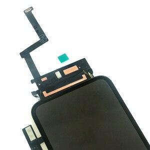 Image 2 - Digitixer で 10 個 iphone xr 液晶ディスプレイの oem 交換アセンブリ 45 ° エッジ角度黒 iphone xr タッチスクリーン