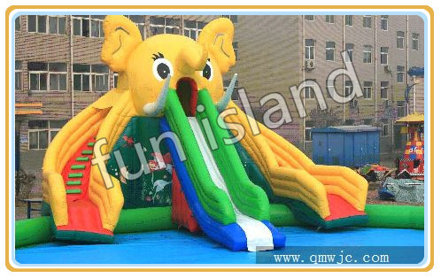 Hot Three Lines Giant Inflatable Slide Colorful Water Slide For Sale,Water Slide For Event three 100ml