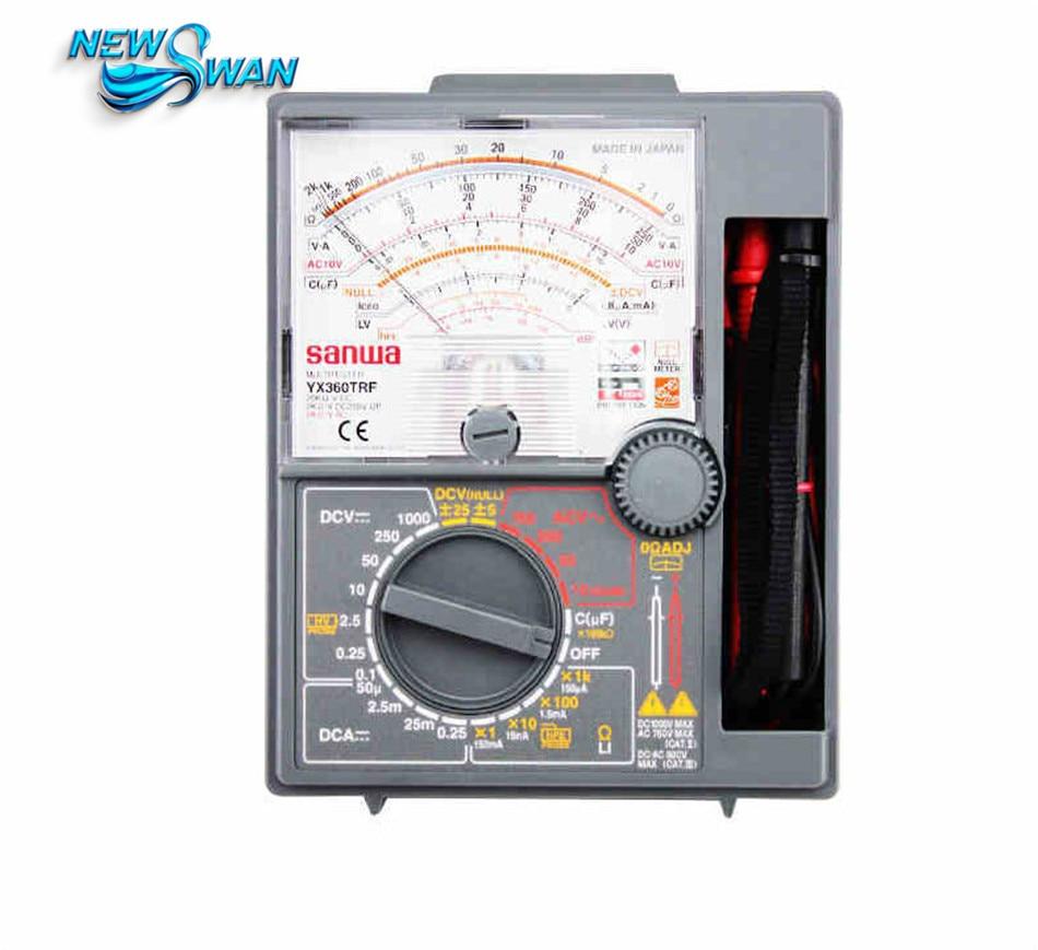 YX-360TRF Analog Multimeter Tester YX360TRF Analog Pointer Multimeter Japanese Multimeter mf47 multimeter suite pointer multimeter parts and electronic practice training diy kit 1 2v 3 6v