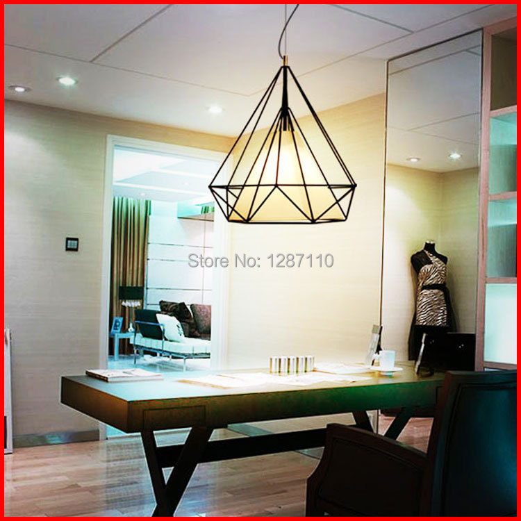 brief kevin reilly pendant light diamond E27 bird cage pendant light art pendant AC85-265V free shipping o reilly product defects