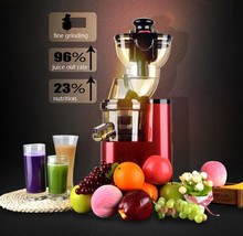 Large Diameter Multi-function Juicer for Commercial Use Stiring Juice Machine Low-speed Baby Juicer JE220-08M00