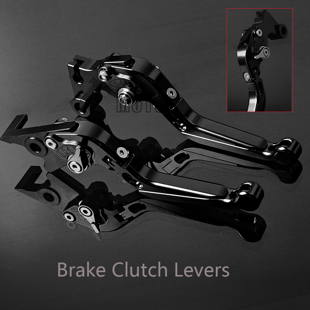 Motorcycle Brake Clutch Levers For YAMAHA FJ 09 MT 09 TRACER MT 10 FZ 09 MT 09/SR FZ 1 FAZER FZ 6 FAZER FZ 6 R 2009-2015 3d rhombus cnc aluminum adjustable motorcycle brake clutch levers for yamaha fz 09 mt 09 sr fz 07 mt 07 2014 2018 2014 2015