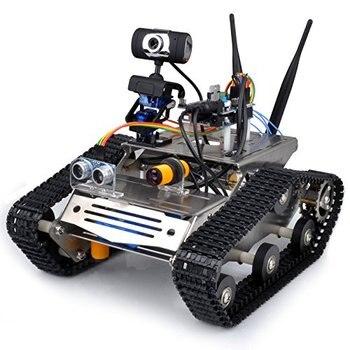 Wireless Wifi Robot Car Kit for Arduino / Hd Camera Ds Robot Smart Educational Robot Kit for arduino robot