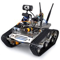 Wireless Wifi Robot Car Kit for Arduino / Hd Camera Ds Robot Smart Educational Robot Kit for arduino robot
