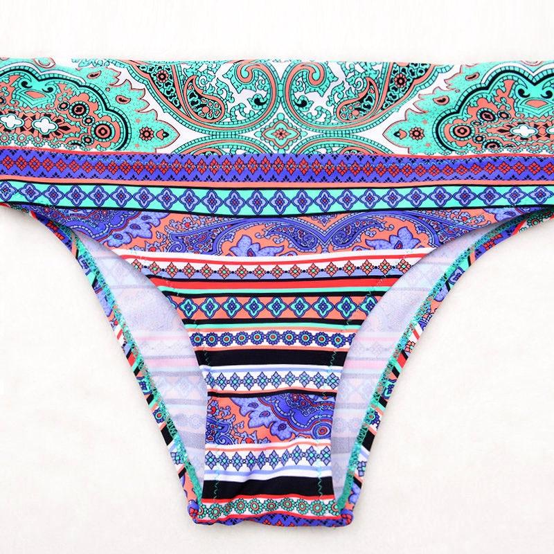 Only Bottom Sexy Bikinis Women 2018 Push-Up Swimsuit Padded Bikini Set Plus Size Swimwear Female Bathing Suit Beach Biquini