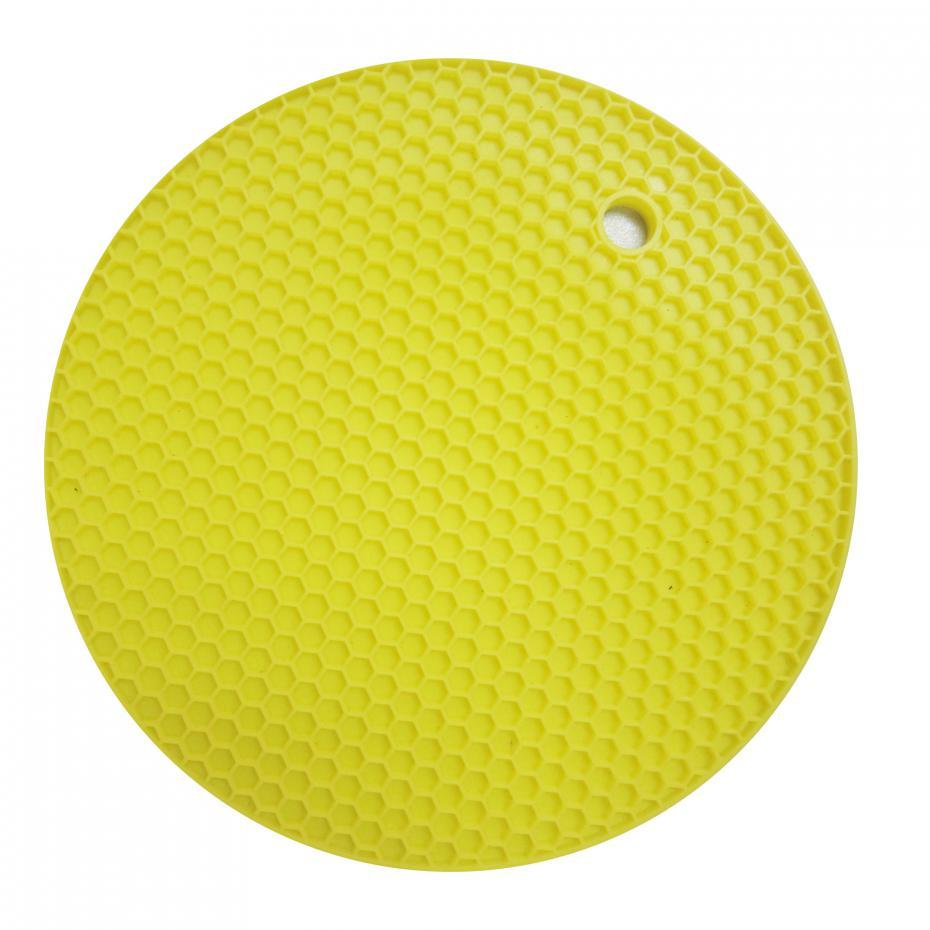 18cm Round Silicone Non-slip Heat Resistant Mat Coaster Cushion Placemat Pot Holder Kitchen Accessories 15