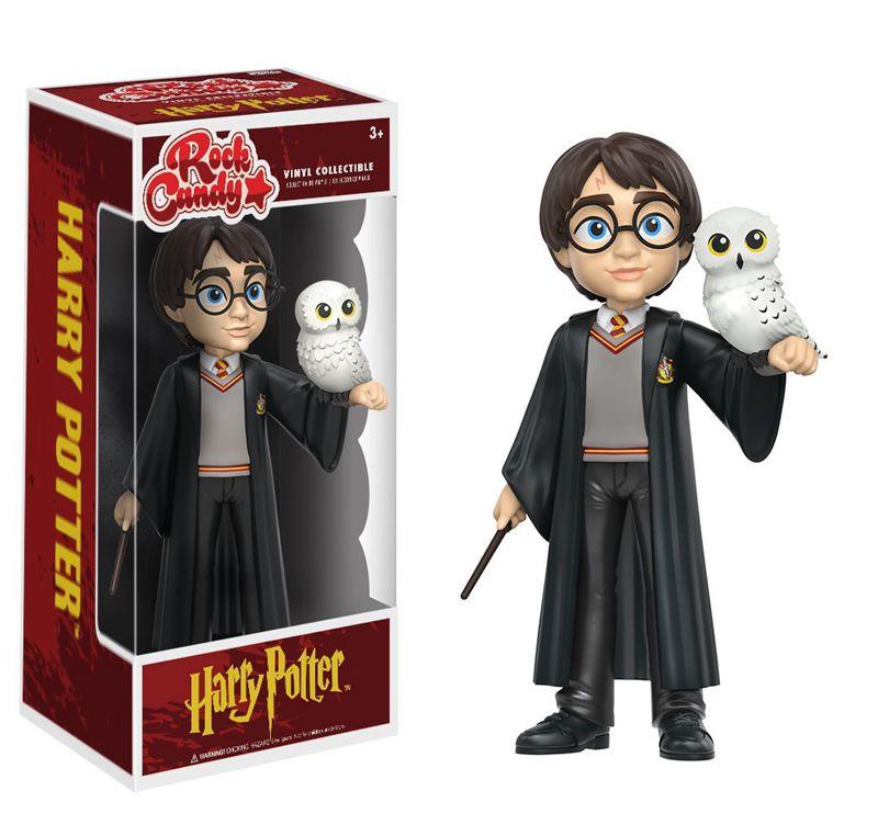 Bonbons Funko Rock officiels Harry Potter-Harry Potter avec perruque de Hedwig figurine en vinyle jouet de collection avec boîte d'origine