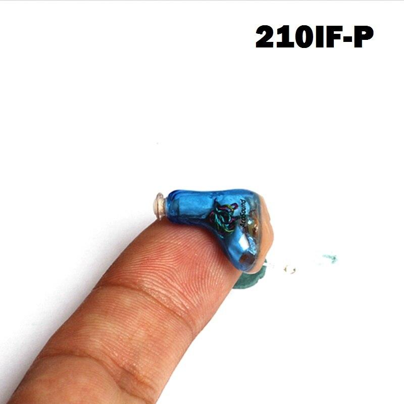 AcoSound 210IF-P Invisible CIC Aide Auditive Numérique Aides Auditives Portable Audiphones Mini Amplificateur Sound Oreille Sida