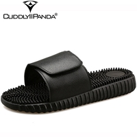 2017 Summer Nude Black Women Home Slippers High Quality Bathroom Slippers Extra Size Sandalias Mujer Massage Beach Slippers