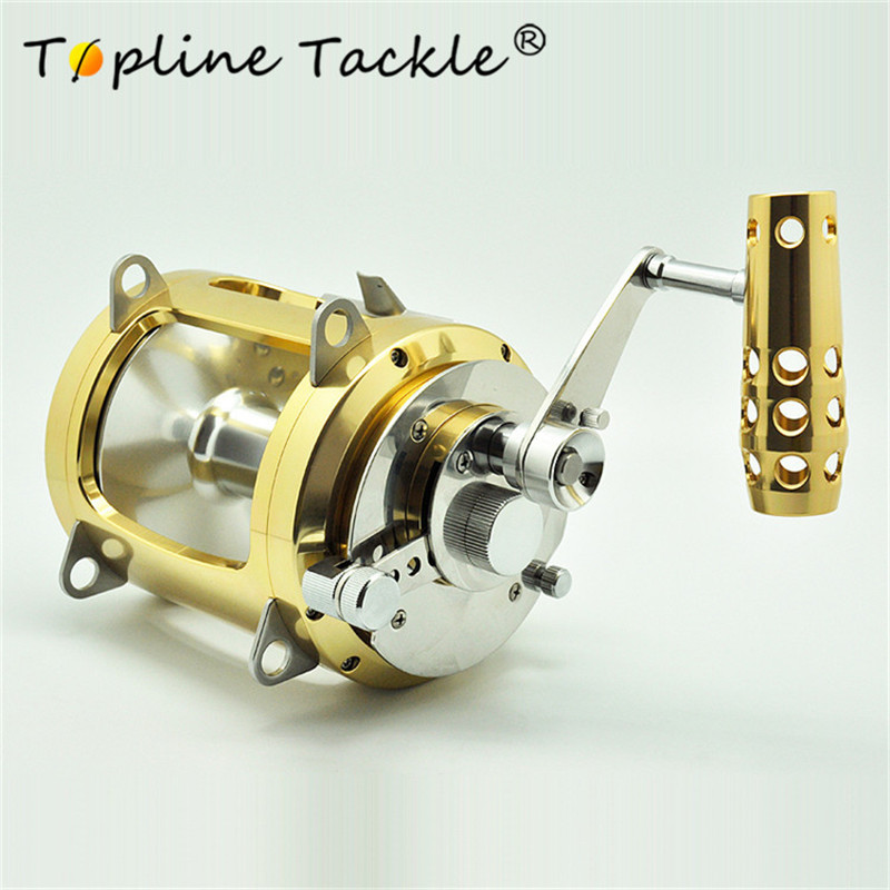 2 vitesse Bateau moulinet de pêche 30 w grand jeu à la traîne bobine bobines