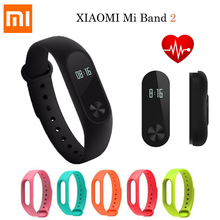 Original Xiaomi Mi Band 2 Smart Fitness Bracelet Mi Band 2 Wristband Heart Rate Monitor IP67 Waterproof Sleep Monitor OLED Touch