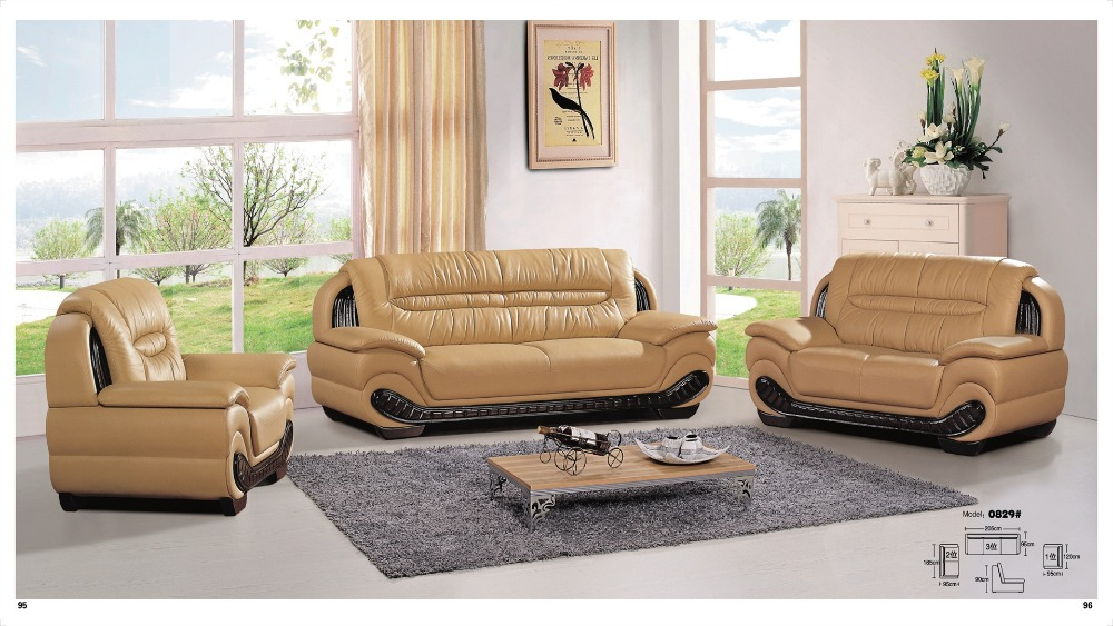 Iexcellent Modern Design Genuine Leather Sectional Sofa Set Living Room  Furniture 1 2 3. Por Design Furniture China Cheap