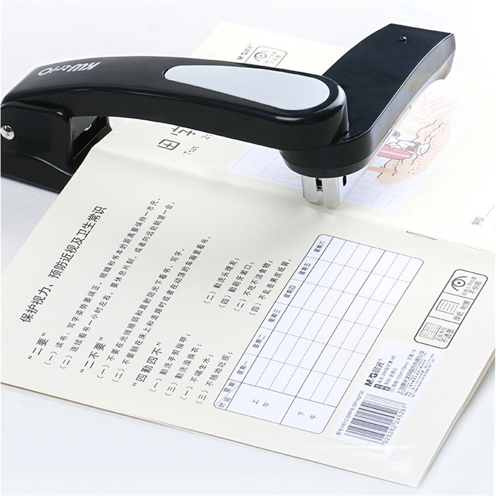1pcs 360 Degree Rotary Stapler With 1000pcs 24/6 staples Office Home School Desk Heavy Duty Durable Useful Medium hot stapler smart repair replacement staples kit hs 013xf