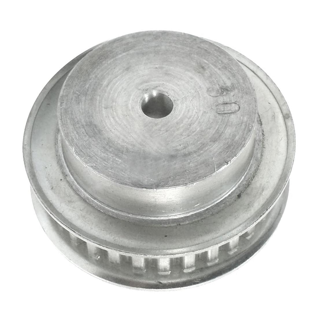 Stepper Motor 30 Zähne 6mm Bohrung XL Typ Aluminium Zahnriemenscheibe