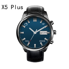 FINOW X5 Plus x5Plus 3G Smartwatch Téléphone Android 5.1 GPS MTK6580 Quad Core 1 GB/8 GB WiFi Bluetooth PK LEM5 Montre Smart Watch pour IOS