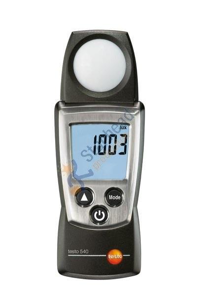 Testo 540 Карманный свет яркомер тестер, свет нечувствительности от 0 до 99999 люкс