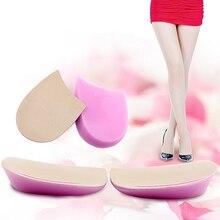 2pcs=1pair Foot Support Shoe Pads O/X Type Leg Orthopedic Cu
