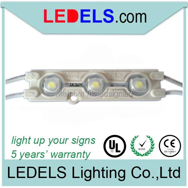 Открытый мини LED 2835 водонепроницаемые модули 0.72 Вт высокого качества канала знаки письма светодиодные модули 100 шт./лот