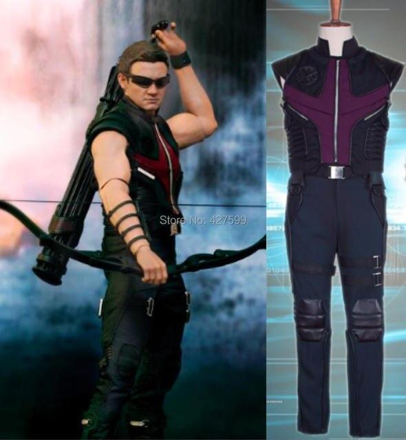 The Avengers Clint Barton Hawkeye Cosplay Costume  sc 1 st  AliExpress.com & The Avengers Clint Barton Hawkeye Cosplay Costume-in Movie u0026 TV ...