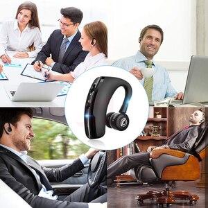 Image 5 - MEUYAG auriculares inalámbricos con Bluetooth para coche, audífonos manos libres con micrófono y gancho para la oreja para iPhone y Samsung, 2019