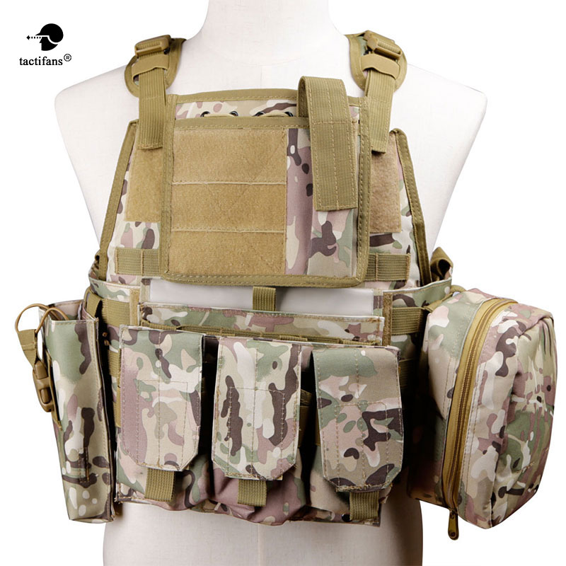 Tactical Military Vest Army Hunting Molle Airsoft Vest Combat Assault Plate Carrier Pouch CS Outdoor Clothing Hunting Vest цены