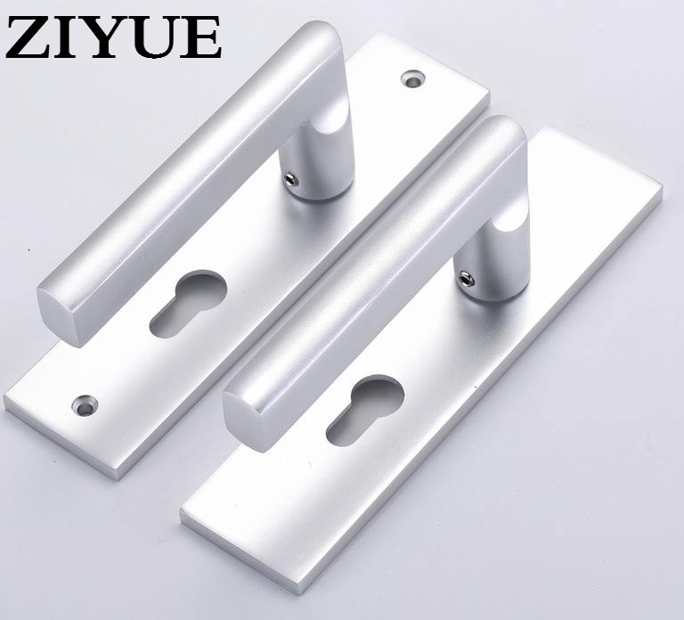 Free Shipping Interior Bedroom Living Room Door Lock Aluminum Space for Wooden Door trek 7 2 fx wsd 2015