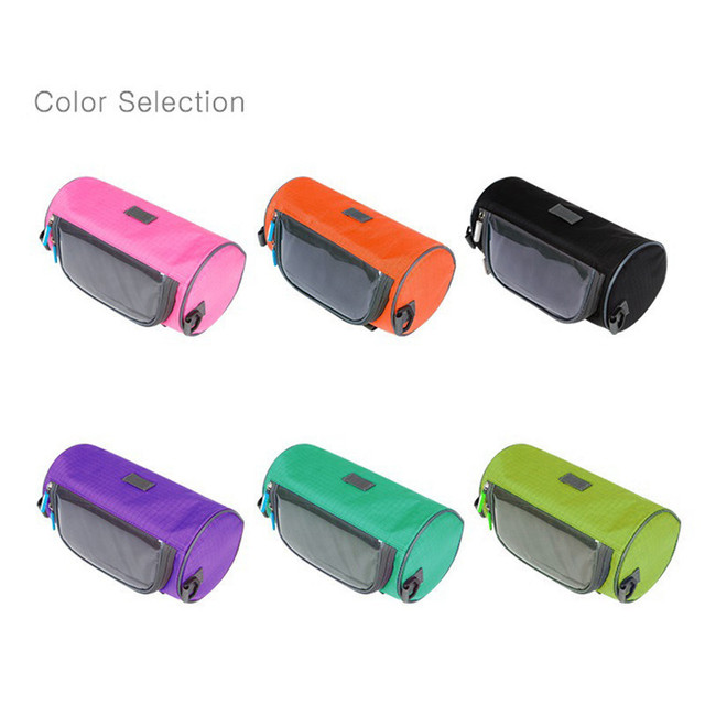Waterproof Motorcycle Bike Bags With Phone Touch Screen Cycling Storage Bag Case Front Tube Tank Handlebar