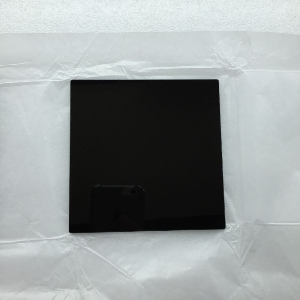 200x200x3.0mm 312nm 302nm UV Pass Filter ZWB1 UG11 U-340 Visible Light Cut Optical Glass for Transilluminator