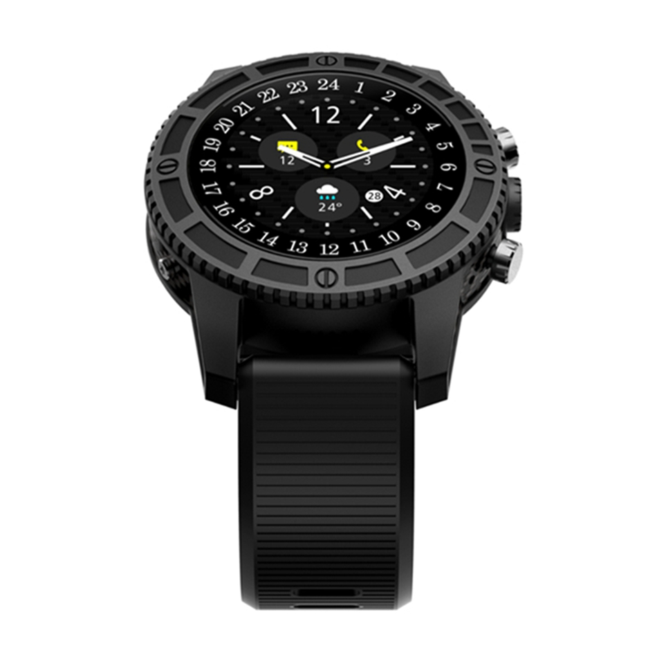 Bakeey I7 1.39 inch Amoled 4G LTE 1GB+16GB Heart Rate Monitor Smart Watch Google Voice Map Play GPS WIFI for Android 7.0 Camera