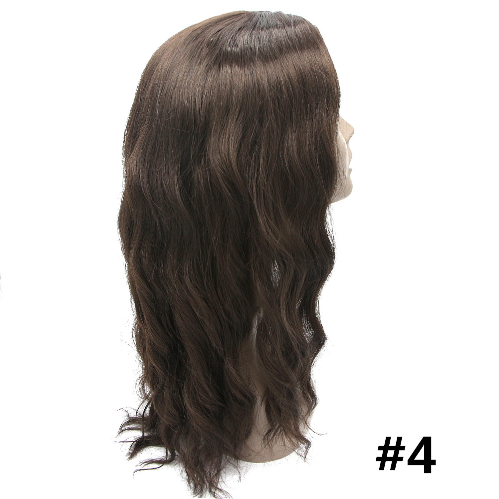 Feibin Långa Pärlor För Svarta Kvinnor Syntetisk Afro Vågigt - Syntetiskt hår - Foto 2