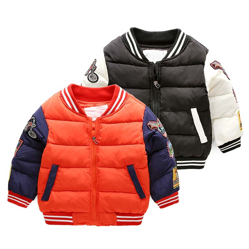 winter boys jacket cotton padded winter baby coat thickening outwear winter