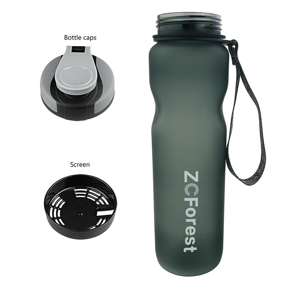Tritan İdman Su Şüşəsi 1000ml BPA Pulsuz Şüşə butulkamız - Mətbəx, yemək otağı və barı - Fotoqrafiya 4