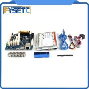 Image 4 - Усовершенствованная 32 битная Электроника Clone Duet 2 Maestro с 7 дюймовыми 7 дюймовыми встроенными цветными сенсорными контроллерами PanelDue 7i
