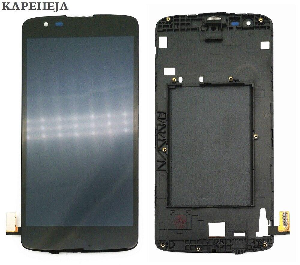 5,0 для LG K8 LTE K350 K350N K350E K350DS ЖК-дисплей Дисплей Сенсорный экран планшета в сборе с рамкой кадра