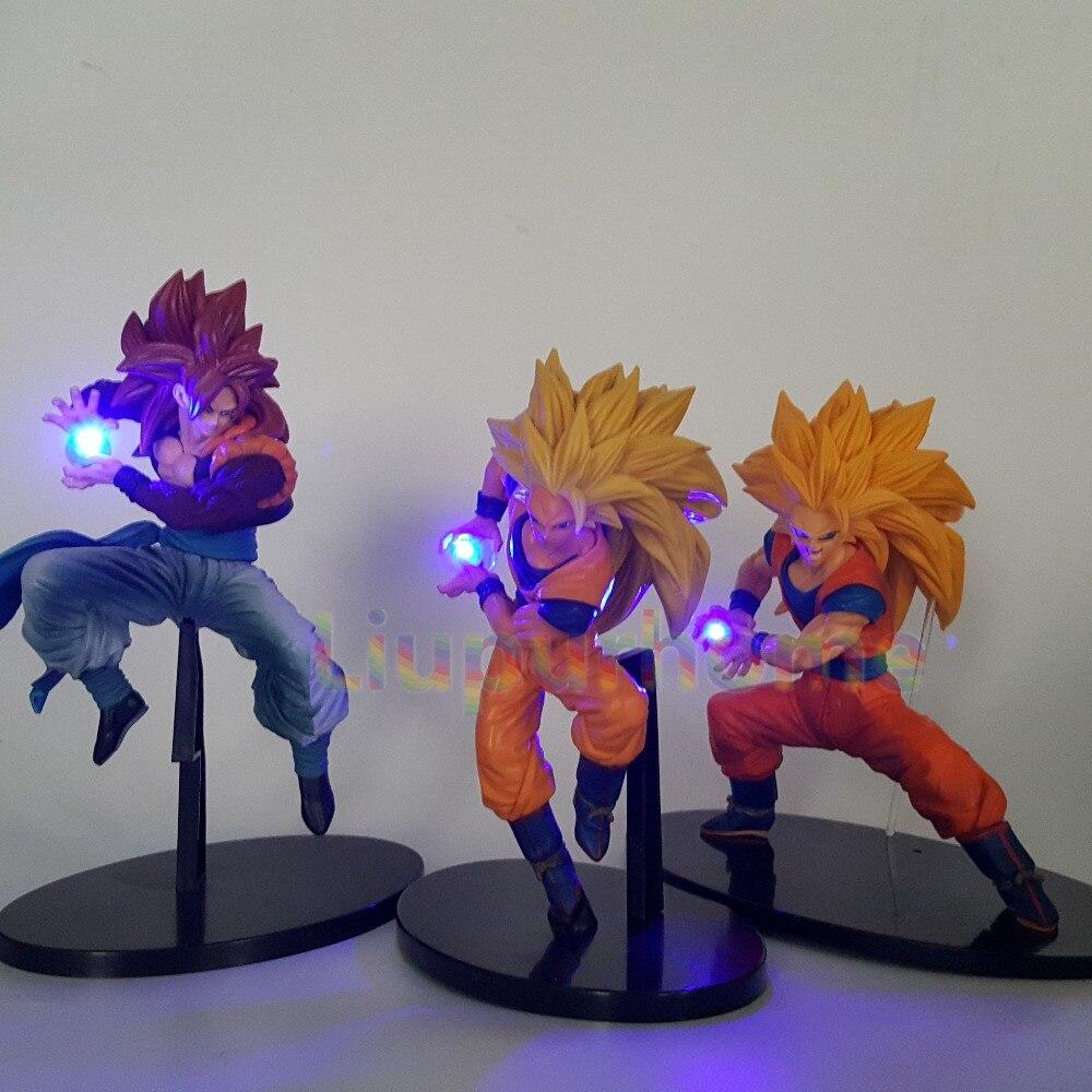 Dragon Ball Z Lampe Luminaria LED Nacht Lichter Anime Dragon Ball Super Goku Super Saiyan 4 Lampara Zimmer Dekorative beleuchtung