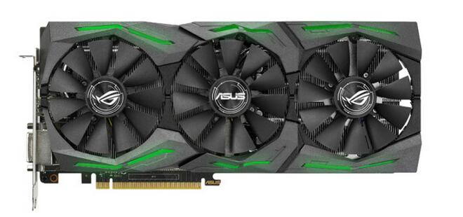 ASUS ROG STRIX-GTX1060-6G-GAMING 1506-1708MHz 6G / 192bit Graphics Card Used 90%new