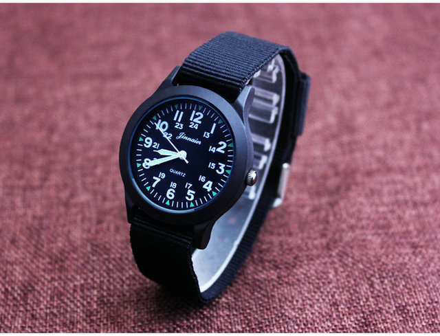 2017 Military Watch Fashion Casual Watches Men Wristwatch Nato Strap Quartz Spor