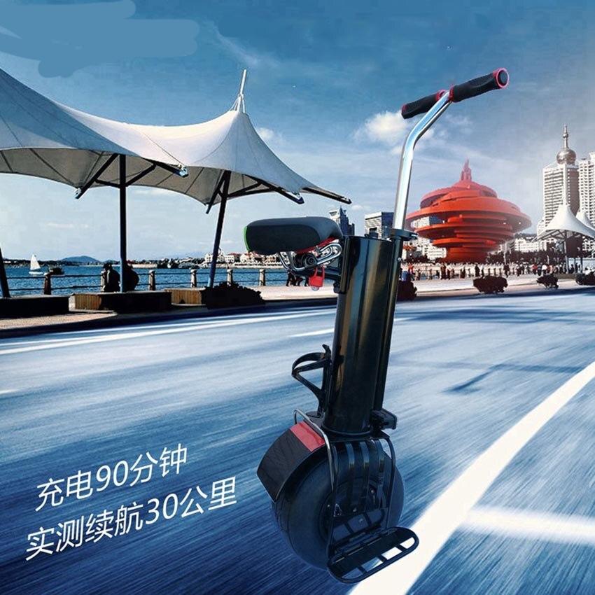 Una rueda auto equilibrio monociclo unicicle scooter con asiento de 10 pulgadas hoverboard - 4