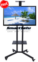 Free Shipping 32 60 Inch LCD LED Plasma TV Mount Floor Display Stand Carts Trolley With
