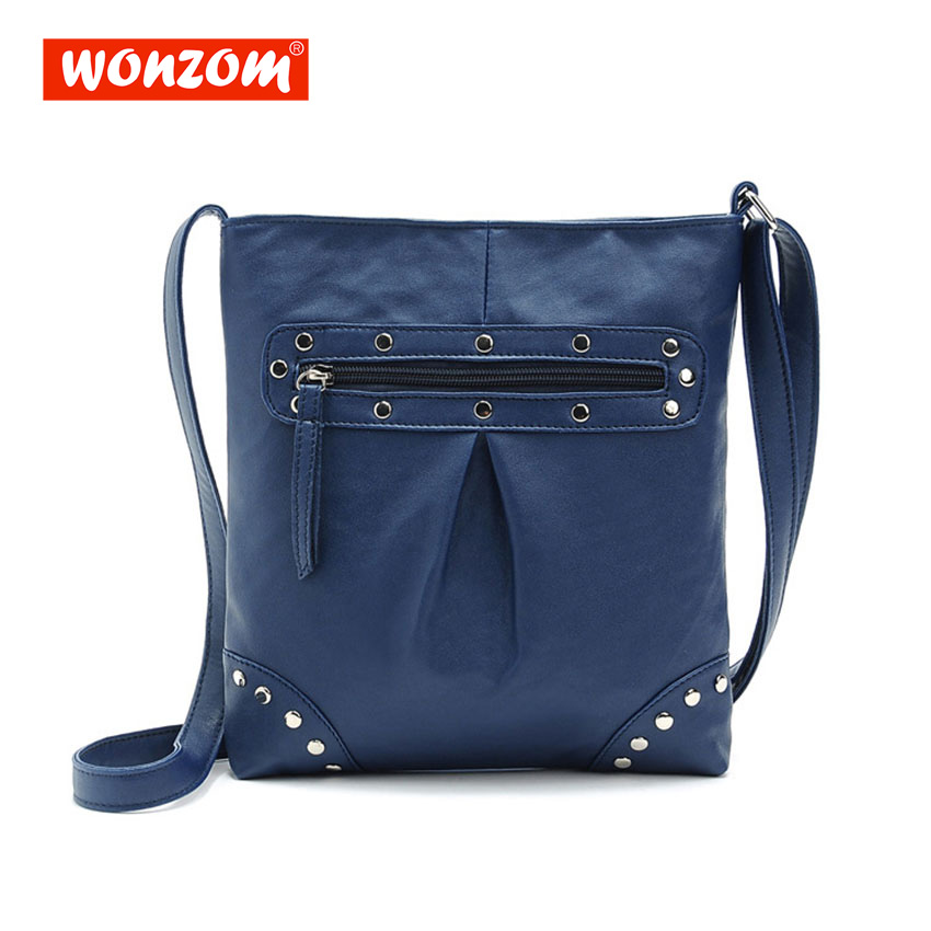 WONZOM Female Shoulder Bag Women Messenger Bag Woman Handbags Luxury Diamond Strap Bags