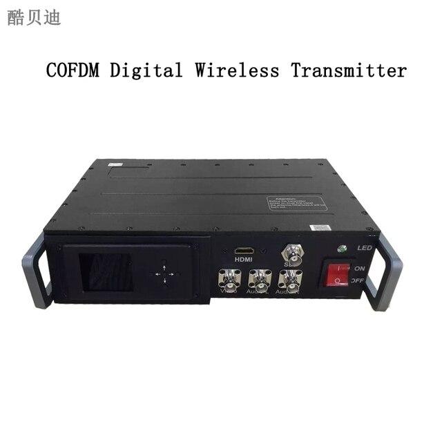 Uhf Digital Long Range Wireless Video Transmitter 1080p Hd Wireless Video Sender 25 Watt Rf Video