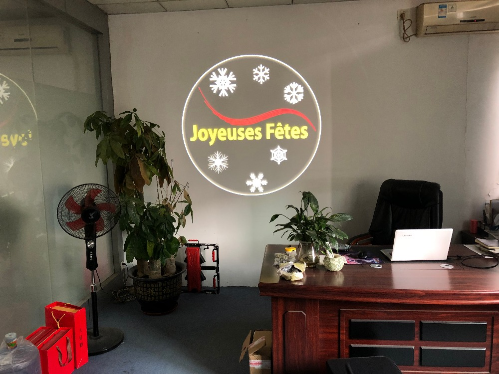 Advertising LED LOGO Projection Lamp Outdoor Waterproof Shop Sign Projection D