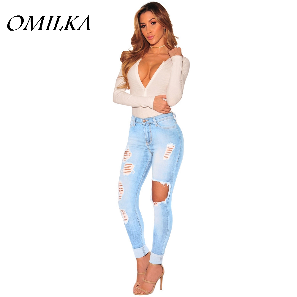 Popular Sexy Distressed Jeans-Buy Cheap Sexy Distressed Jeans lots ...