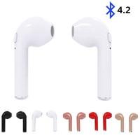 I7 TWS Twins True Wireless Bluetooth V4 2 Earbuds Mini Earphones Stereo Sports Music Headset For