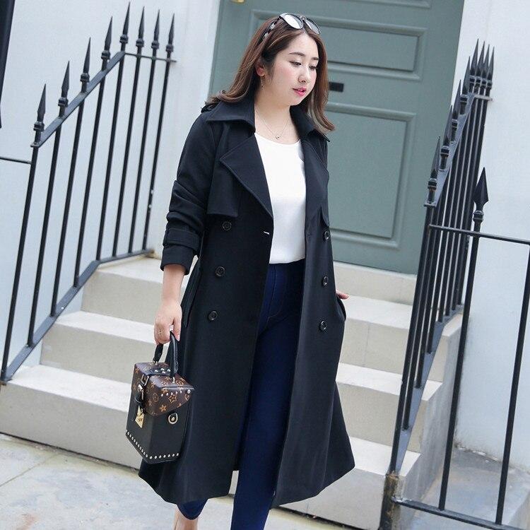 De Femmes Vent Xl Long Taille Tranchée Printemps 2018 Plus A011 Manteau Nouvelle D'engrais qA1nPY