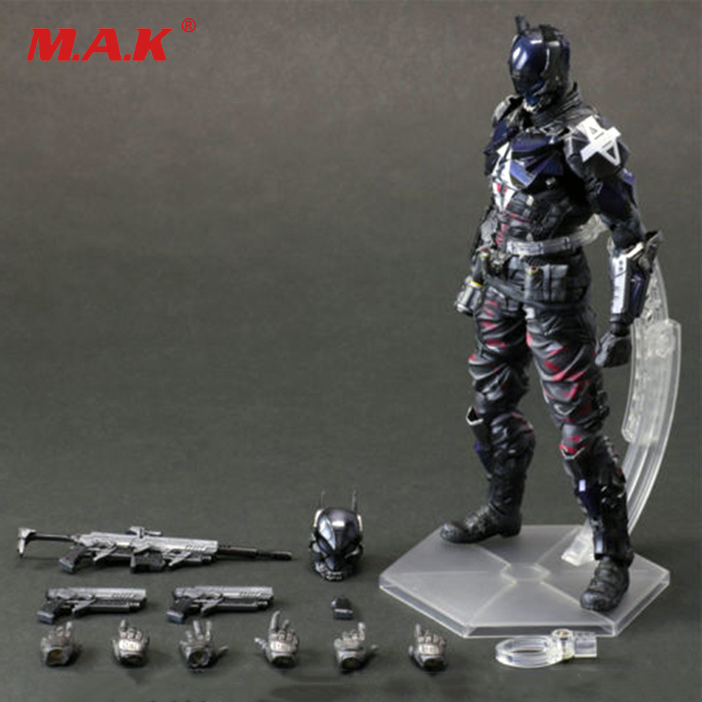 11Arts Kai Batman Arkham City Knight Variant PVC Action Figure Statue Model 27cm Toys for Collection playarts kai batman arkham knight batman blue limited ver brinquedos pvc action figure collectible model doll kids toys 28cm