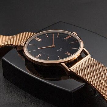 65031991a19f YAZOLE ultrafina reloj de los hombres relojes de marca de lujo de la mejor  famoso pulsera de acero inoxidable relojes para hombres reloj hombre relojes  ...
