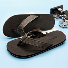 Gienig 2018 Men flip flops men bottom tide casual sandals for indoor anti skid home slippers