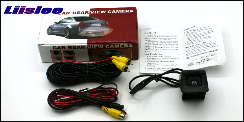 Car Rear Camera For TOYOTA HILUX AN Original Reverse Hole LiisLee Rear View Back Up WaterProof CCD Night Vision View Car Camera Small Package